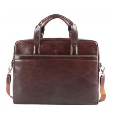 Портфель с плечевым ремнем 6031G brown