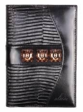 Обложка для паспорта Elisir Бергамо черная PPV-214
