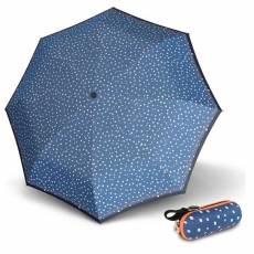Зонт Knirps женский механический 811 X1 FLAKES BLUE 898114992