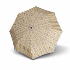 Зонт Knirps женский полный автомат T2 Duomatic CHECK BEIGE 89878539