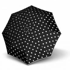 Зонт Knirps женский полный автомат T.100 Small Duomatic dot art black 9531004901