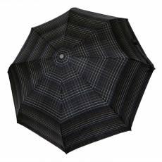 Зонт Knirps мужской полный автомат T.300 Large Duomatic CHECK BLACK 9533005290
