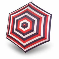 Зонт Knirps женский механический TS.010 Slim Small Manual STRIPE RED 9540104905
