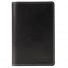 Обложка для паспорта PERSON ОП-S Апачи черный