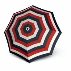 Зонт Knirps женский механический T.010 Small Manual STRIPE RED 9530104905