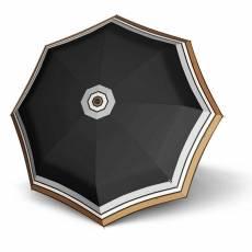 Зонт Knirps женский полный автомат T.200 Medium Duomatic BORDER BLACK 9532004944