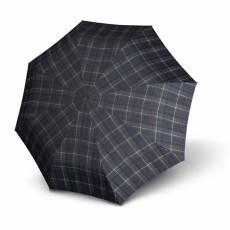 Зонт Knirps мужской полный автомат T.200 Medium Duomatic CHECK BLUE & GREEN 9532005180