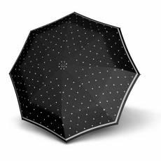 Зонт Knirps женский полный автомат T.200 Medium Duomatic REFLECTIVE DOTS BLACK 9532007153