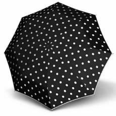 Зонт Knirps женский полный автомат T.200 Medium Duomatic DOT ART BLACK 9532004901