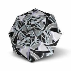 Зонт Knirps женский механический T.010 Small Manual POSEIDON BLACK 9530108252