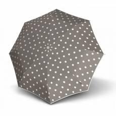 Зонт Knirps женский полный автомат T.200 Medium Duomatic DOT ART TAUPE 9532004902