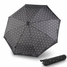 Зонт Knirps женский полный автомат X.200 Duomatic LOTOUS BLACK 9562004800