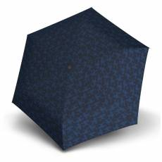 Зонт Knirps женский полный-автомат TS.200 Slim Medium Duomatic DREY BLUE 9542008397