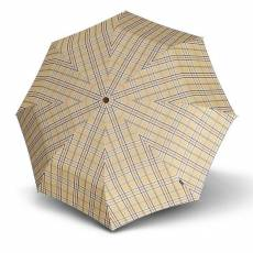 Зонт Knirps женский автомат Minimatic SL CHECK BEIGE 89824539