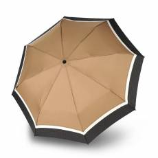 Зонт Knirps женский полный автомат T2 Duomatic BORDER TOFFEE 898784932