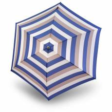 Зонт Knirps женский механический TS.010 Slim Small Manual STRIPE BLUE 9540104906