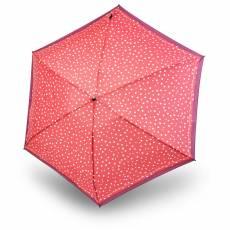 Зонт Knirps женский механический TS.010 Slim Small Manual FLAKES RED 9540104993