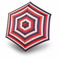 Зонт Knirps женский полный автомат TS.200 Slim Medium Duomatic STRIPE RED 9542004905