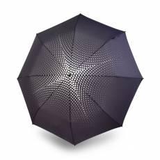 Зонт Knirps женский полный автомат T.200 LOLA PALTINGER POLKA GREY 9532008363