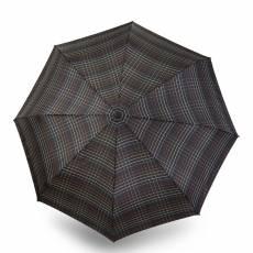 Зонт Knirps мужской полный автомат T.301 Large Duomatic CHECK BLACK 9533015290