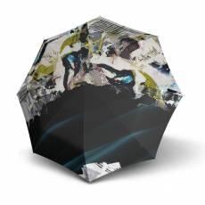 Зонт Knirps полный автомат T.200 Medium Duomatic CLOUDS UV PROTECTION 9532018380