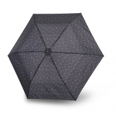 Зонт Knirps автомат U.200 Ultra Light Medium Duomatic RAIN BLACK