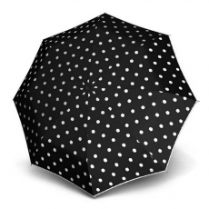 Зонт Knirps женский механический T.010 Small Manual DOT ART BLACK 9530104901