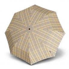 Зонт Knirps автомат T.201 Medium Duomatic CHECK BEIGE
