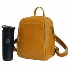 Рюкзак PERSON Р-9013-A Апачи желтый