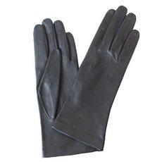 Перчатки женские кожаные без подкладки Edmins Э-20L мод. 0 черный