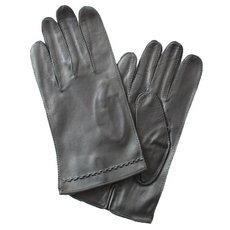 Перчатки мужские кожаные без подкладки Edmins Э-20M мод. 10 черные