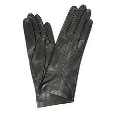 Перчатки женские кожаные без подкладки Edmins Э-20L мод. 163 черный