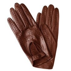 Перчатки женские кожаные без подкладки Edmins Э-20L мод. 242 медный