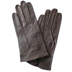 Перчатки мужские кожаные без подкладки Edmins Э-20M мод. 11 коричневые
