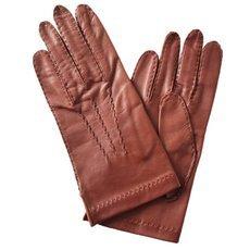 Перчатки мужские кожаные без подкладки Edmins Э-2M-1 мод. 12 рыжие
