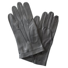 Перчатки мужские кожаные без подкладки Edmins Э-2M-1 мод. 14 черные