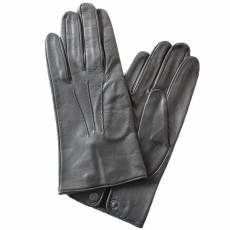 Перчатки мужские кожаные без подкладки Edmins Э-20M мод. 19 черный