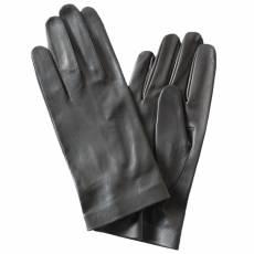 Перчатки мужские кожаные без подкладки Edmins Э-20M мод. 39 черный