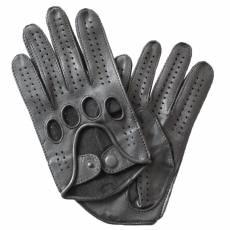 Перчатки мужские кожаные без подкладки Edmins Э-20M мод. 42 черный