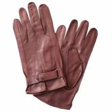 Перчатки мужские кожаные без подкладки Edmins Э-2M-1 мод. 17 рыжий