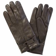 Перчатки мужские кожаные на шерсти Edmins Э-21M мод. 15 коричневый