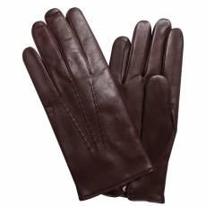 Перчатки мужские кожаные на шерсти Edmins Э-2M мод. 11 коричневый