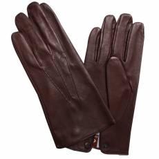 Перчатки мужские кожаные на шерсти Edmins Э-2M мод. 19 коричневый