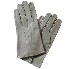 Перчатки мужские кожаные на шелке Edmins Э-2M-1 мод. 19 серый