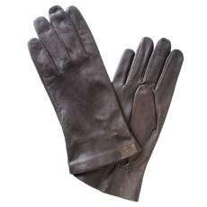 Перчатки мужские кожаные на шелке Edmins Э-2M-1 мод. 39 коричневый