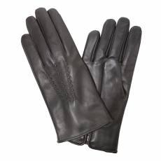 Перчатки мужские кожаные на нат. меху Edmins Э-22M мод. 11 темно-коричневый