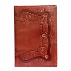 Обложка для паспорта Kniksen Коралл красный ОПВ