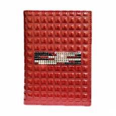 Обложка для автодокументов Kniksen Red Mesh  БС-12