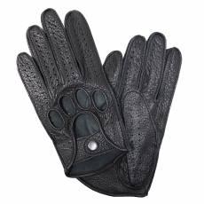 Перчатки без подкладки мужские кожаные Edmins Э-40M мод. 42 черный
