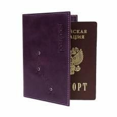 Обложка для паспорта Person Мэри ОПВ друид фиолетовый